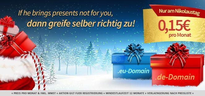.de oder .eu Domain für 15ct/Monat bei Domain-Offensive im ersten Jahr