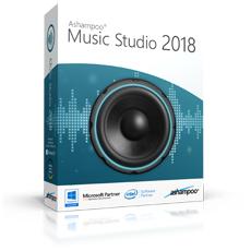Gratis-Vollversion: Ashampoo Music Studio 2018 – Musik einfach bearbeiten