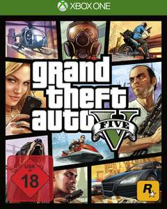 Grand Theft Auto V (Xbox One) für 17,99€ (Müller)