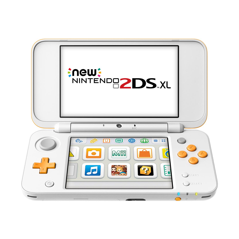 New Nintendo 2DS XL Konsole weiß/orange