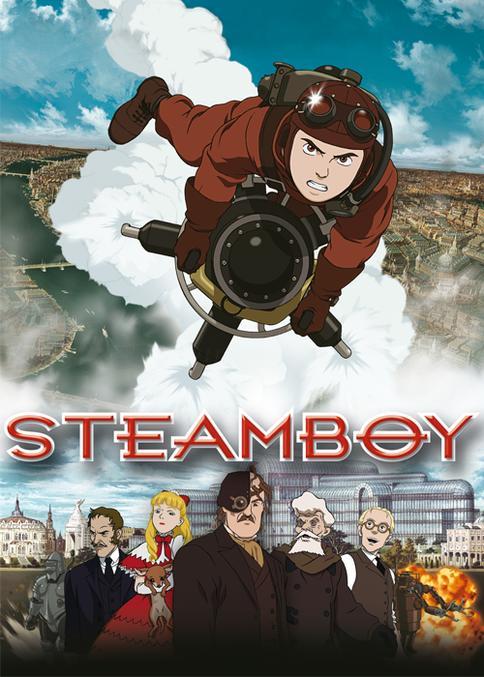 Steamboy kostenlos als Stream bei [Watchbox]