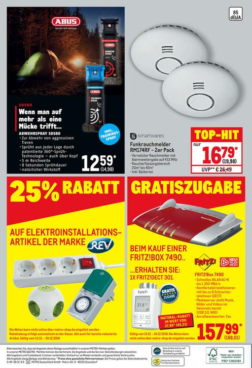 [Metro] AVM Fritz!Box 7490 Wlan Router + Fritz!Dect 301