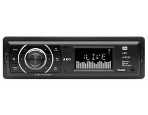"Autoradio mit USB/SD Slot ""AEG Autoradio AR 4027"" für 27 € @ MP"