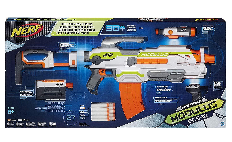Hasbro Nerf N - Strike Elite Modulus ECS-10 Blaster bei Amazon oder Windeln.de