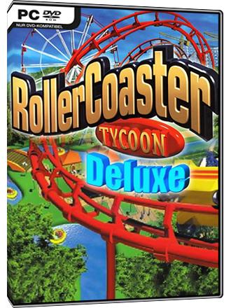 RollerCoaster Tycoon: Deluxe Steam-Key (Englisch und Deutsch)