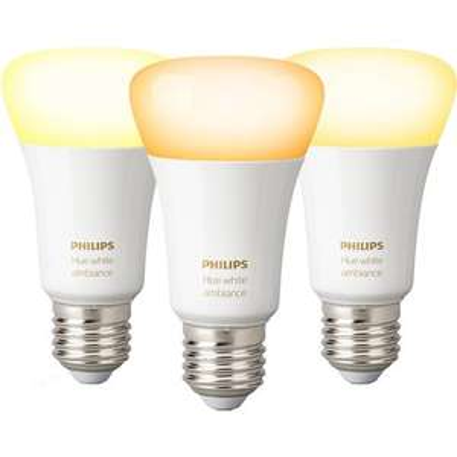 [OBI] 3x Philips Hue White Ambiance E27/9,5W 44,99€ + 4,95€ Versand (oder Abholung)