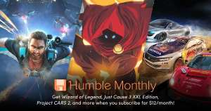 Project Cars 2 + Just Cause 3 XXL + Wizard of Legend für 10,54€ im Humble Monthly (Steam)