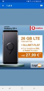 Samsung S9 Plus - Vodafone Young L. 25GB LTE