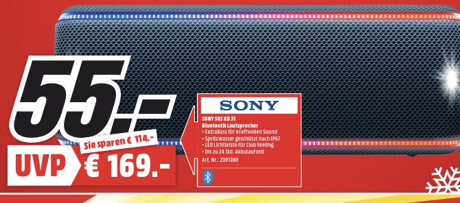 [Lokal Berlin&Schwedt] Sony SRS-XB31 / Nintendo Switch + Mario Kart 8 Deluxe für 275€ / SAMSUNG GQ55Q9F + Galaxy S9 für 1.333€ / uvm.