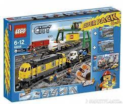 LEGO City 66405 (7939)  Güterzug Superpack 4 in 1 @Intertoys.de