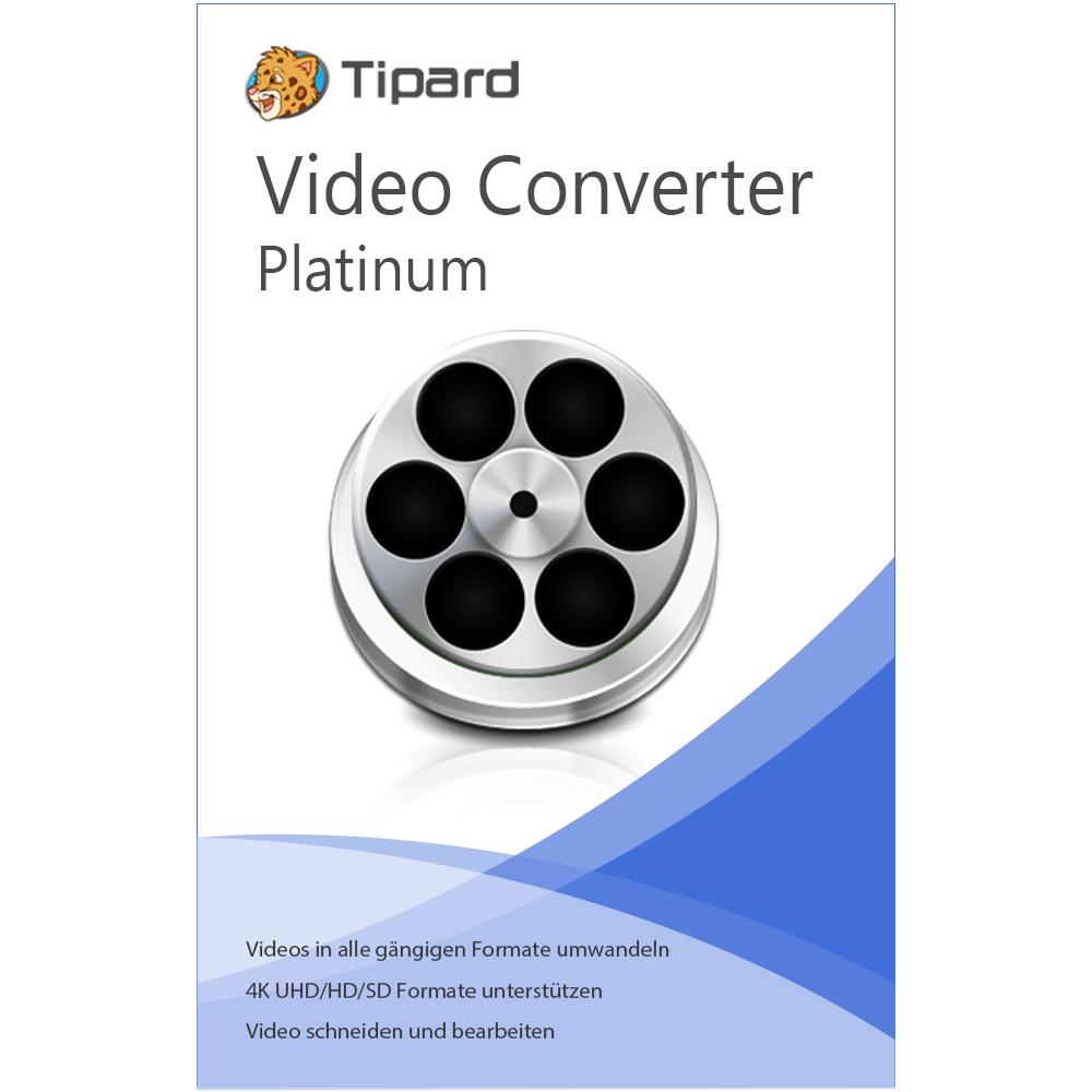 Tipard Video Converter Platinum (Jahreslizenz)