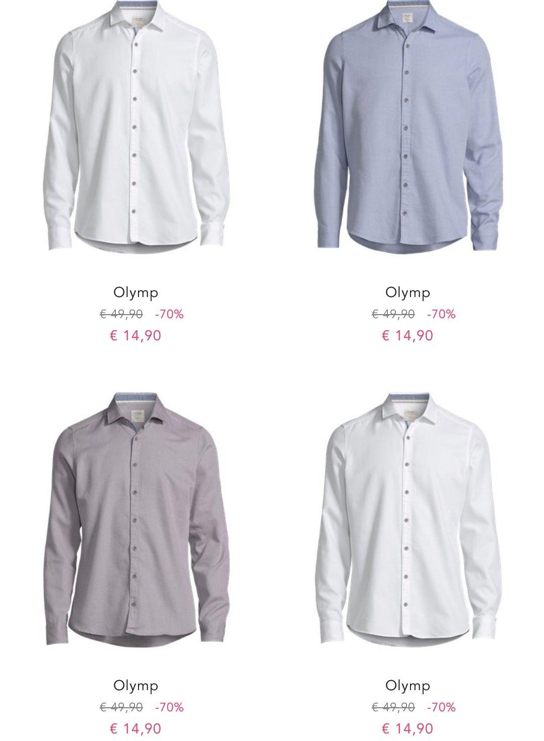 [BestSecret] Business Olymp Hemden ab 14,90€ + 5€ Versand
