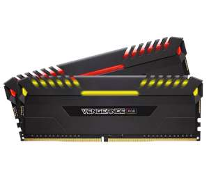 32GB Corsair Vengeance RGB DDR4 3000Mhz CL15 & 64GB Vengeance RGB 2666Mhz CL16 für 405€