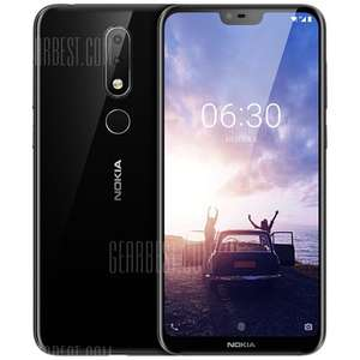 Nokia X6 64GB / 6GB RAM - Snapdragon 636 - 16+5MP / 20MP Kamera - Android 8.1 | Global ohne Band 20