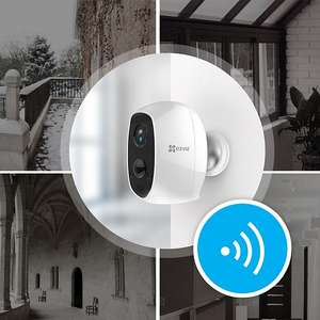 [Plus.de] Zoom Ezviz C3A Smart Home Full HD Kamera+W-Lan Router für 59,- kostenlos dazu