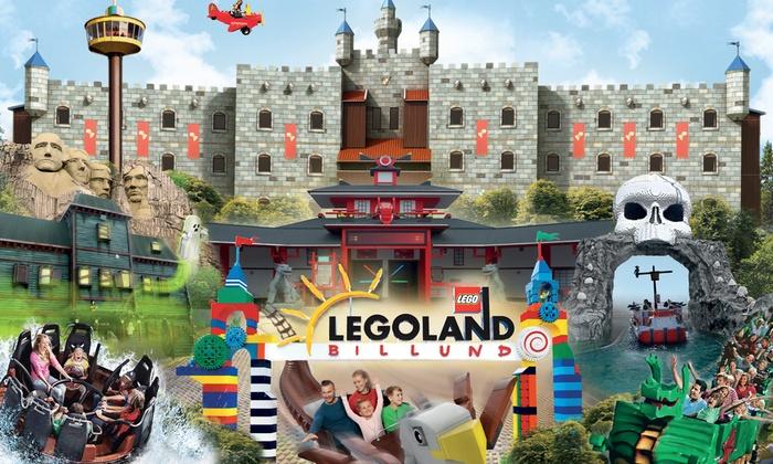Familientickets für das Legoland Billund Resort bei Groupon