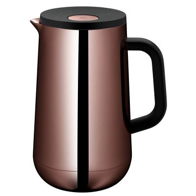 WMF Isolierkanne Thermoskanne Impulse Vintage Kupfer, 1,0 l, für Tee/Kaffee/Kaltes