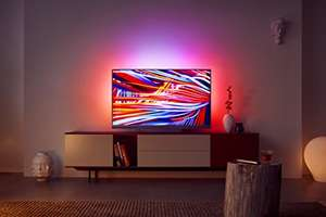 Philips 55 PUS 8503 Smart TV mit 3-fachem Ambilight, 120Hz