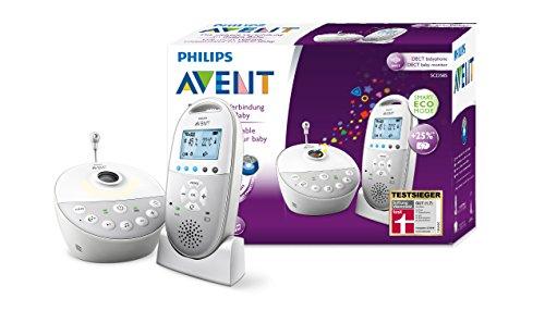 [Amazon Tagesangebot - BESTPREIS] Philips Avent Audio-Babyphone SCD585/26 (Sternenhimmel, bis 25 Stunden Akku)
