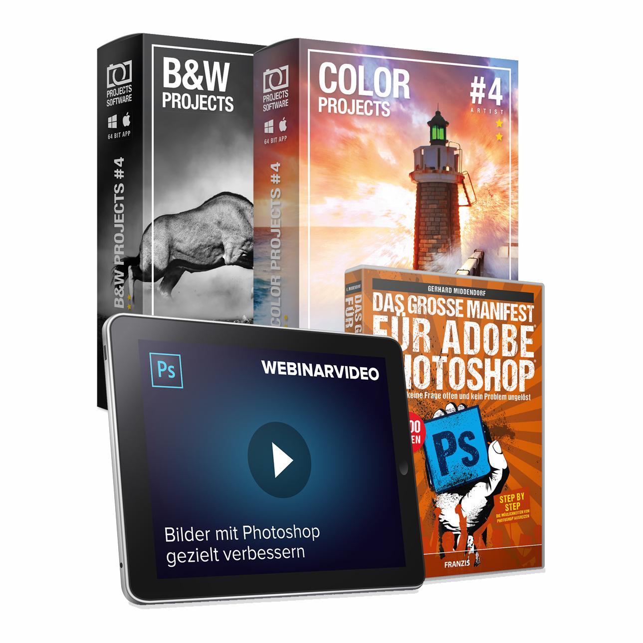 Chip Adventskalender Türchen Nr. 9: Franzis Photoshop-Paket - Vollversion