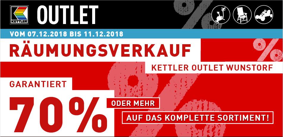 [Lokal Wunstorf bei Hannover] Kettler 70% Rabatt auf alle Artikel - Gartenstühle, Rutschen, Turnrecks, Schreibtische, Kinderdrehstühle