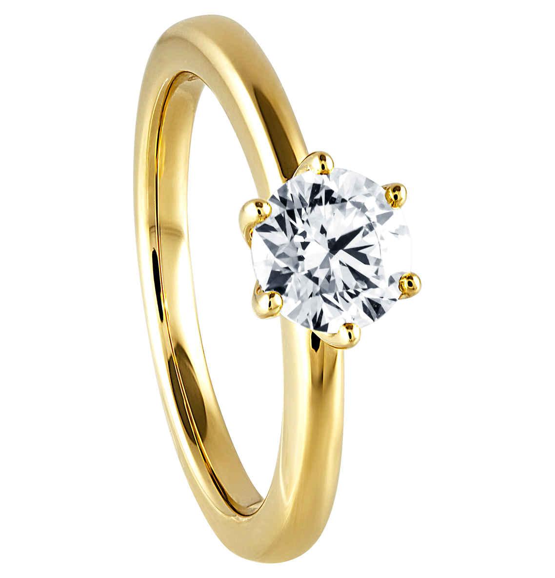 Moncara Diamant-Ring 585 Gelbgold, ca. 1,00 ct.  [Galeria Kaufhof bundesweit]