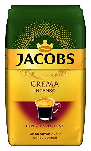 Jacobs Expertenröstung Crema Intenso, Kaffee Ganze Bohne, 1 kg [AMAZON PRIME]