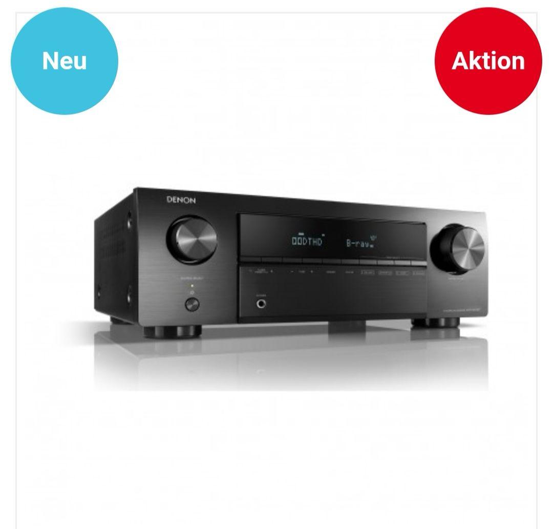 Denon AVR-X250BT - 5.1 Receiver mit Bluetooth - 5 x HDMI etc.