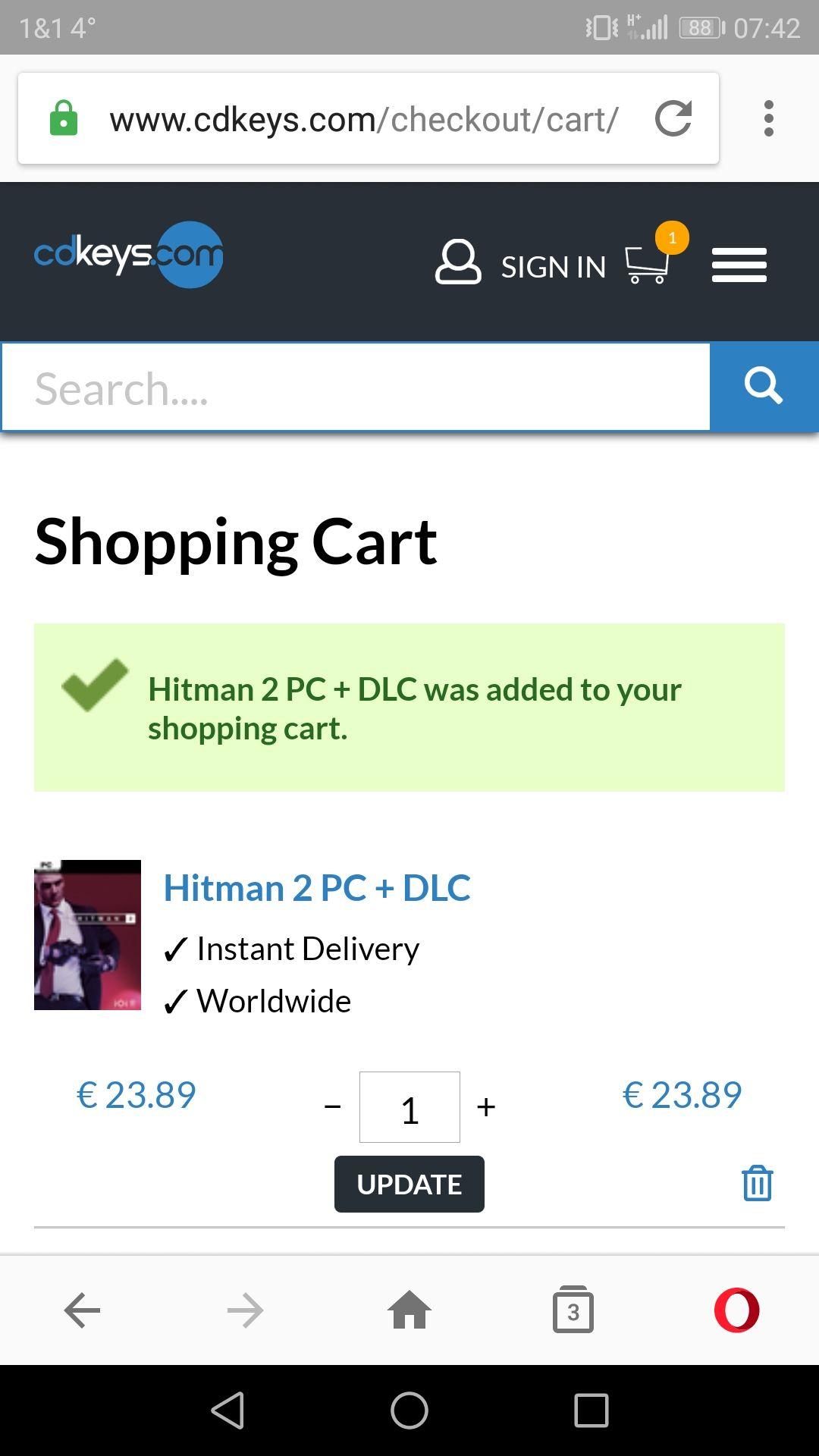 [cdkeys] Hitman 2 (Steam)
