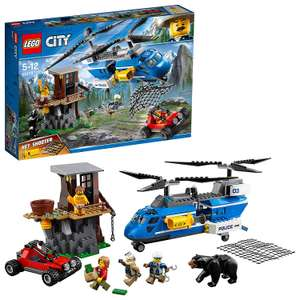 [Amazon.uk] LEGO City 60173 - Bergpolizei Festnahme in den Bergen, Kinderspielzeug