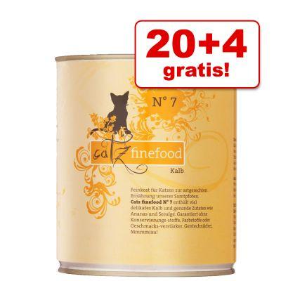 24 x 800g catz finefood (Mix oder einzelne Sorten) - nochmal 10% Rabatt für Neukunden (+7% Shoop) möglich