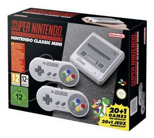 Nintendo SNES Mini für 64,99€ [Bücher.de + Masterpass]