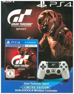 Gran Turismo: Sport + DualShock 4 Controller Limited Edition für 49,89€ (Buecher.de + Masterpass)