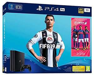 (PS4) SONY Playstation 4 Pro 1TB / EA Sports Fifa 19-Bundle (ohne Fifa  (AMAZON FRANCE)