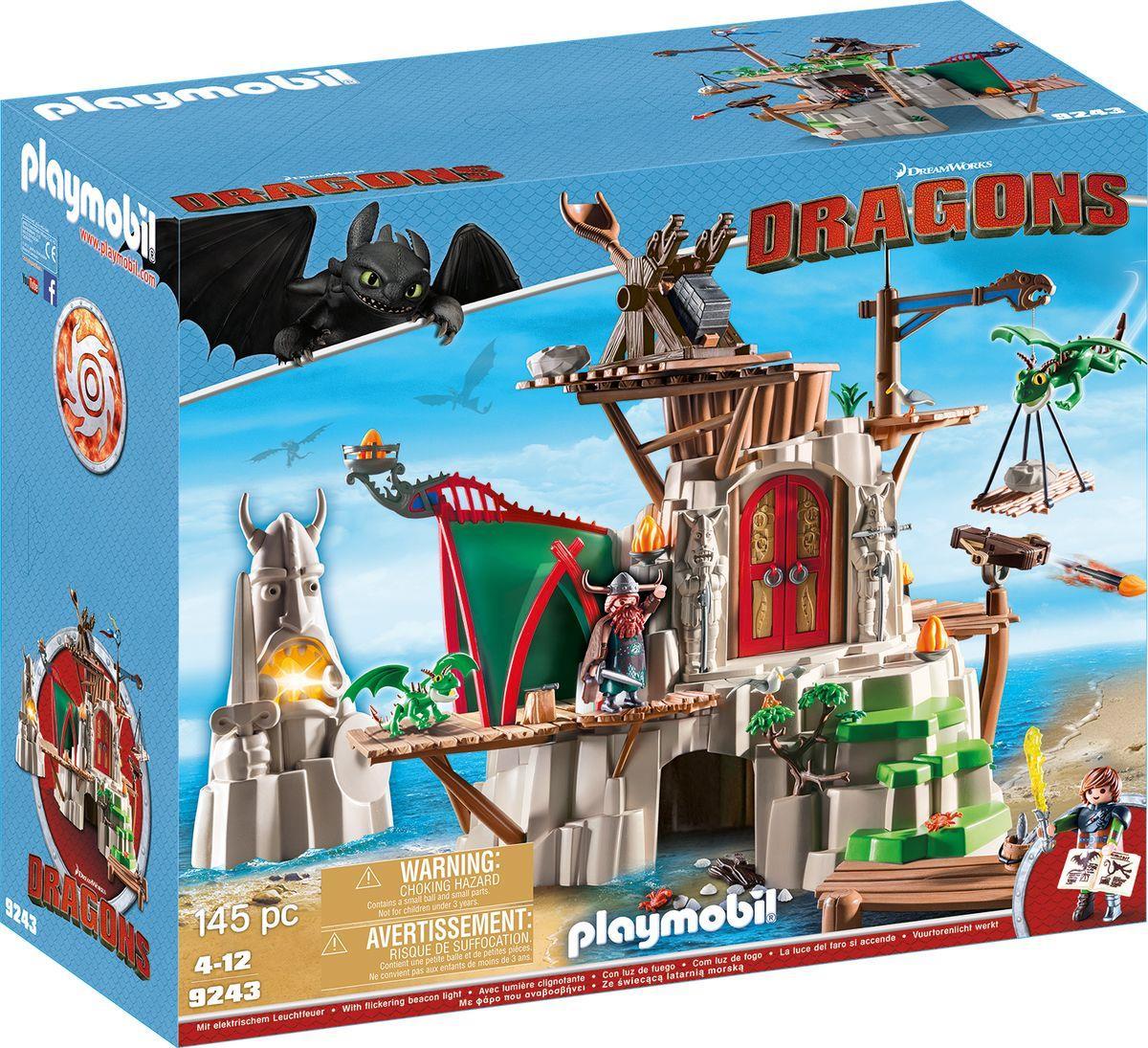 Riesen Set Playmobil Dragons - Berk (9243) für 51,98€