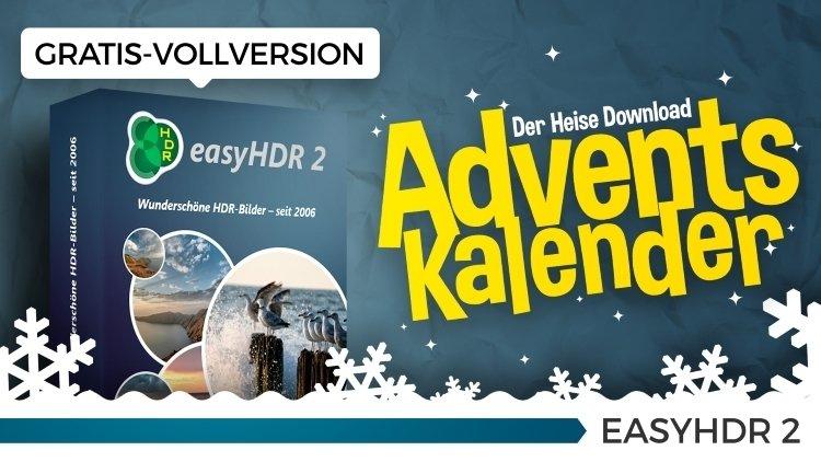 Heise Adventskalender Türchen Nr.11: easyHDR 2 - Vollversion