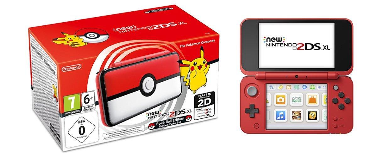 New Nintendo 2DS XL Pokéball Edition für 119,99 € bei aktrade.de (Portofrei inkl. Weihnachtsmütze)