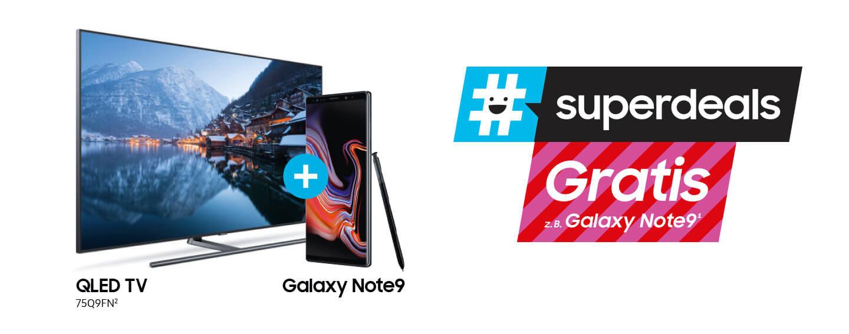 Samsung Aktions-TV kaufen und Galaxy Smartphone gratis erhalten