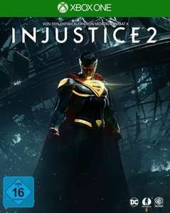 Injustice 2 (Xbox One) & Guardians of the Galaxy: The Telltale Series (Xbox One) für je 9,96€ (GameStop)