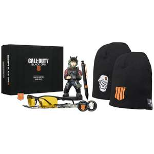 Bigbox Call of Duty Black Ops 4 Fanbox (Cable Guy, Mütze, Kulli, Brille, Medaille, Pin, Code für Emote)