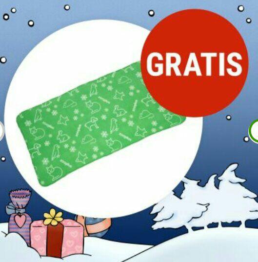 Weihnachtskuscheldecke Gratis Zugabe bei Zooplus.de (MBW 14€)