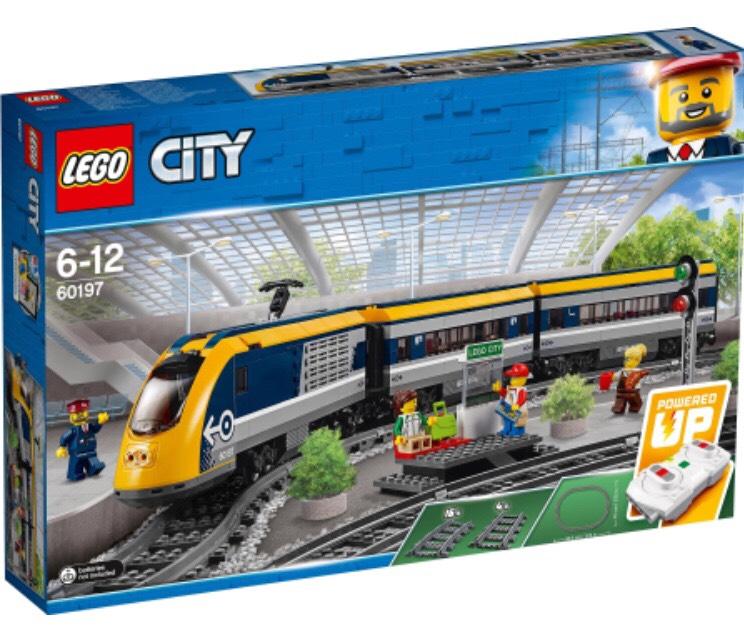 "Lego City Personenzug mit ""Meine Familie"" Coupon"