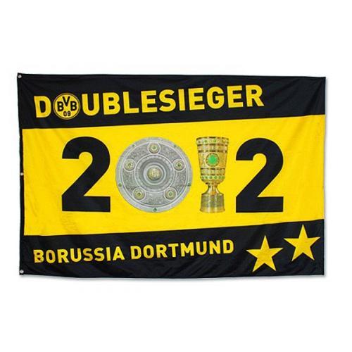 BVB-Fanartikel (Meisterschaft / Doublesieg 2012) stark reduziert [... ab 0,50 ...]