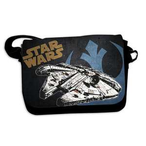 Star Wars Kuriertasche Millenium Falke bei Close Up