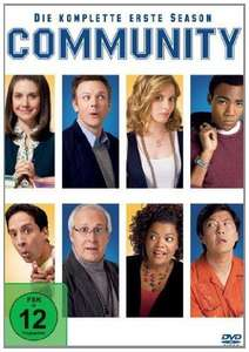 Wieder zu haben: Community Season 1 (DVD) für 16,97@amazon.de