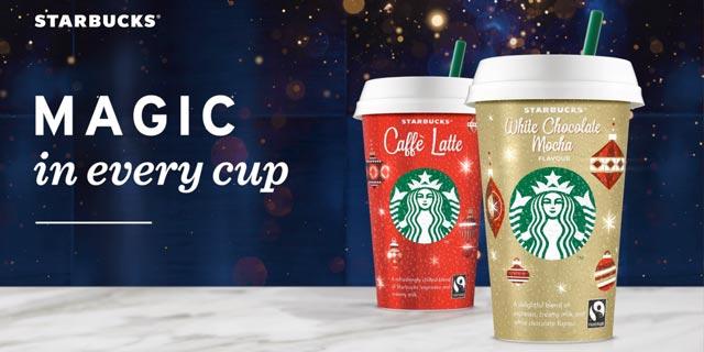 [real /multi /Marktkauf/Edeka  ] Starbucks Chilled Classics für effektiv 0,69€ durch Coupon von Couponplatz und Coupies