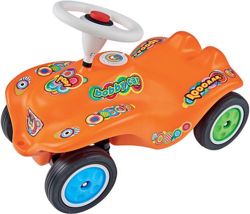 NEW Bobby Car Pop Bobby Car Jubiläumsedition, mit Flüsterrädern und Geheimfach