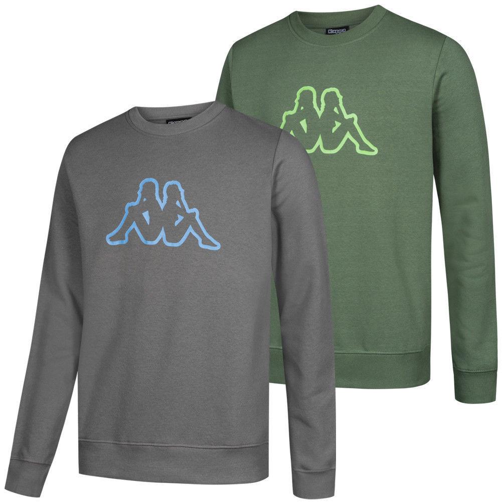 Kappa Simono Round Neck Sweatshirt in 2 Farben (bis Größe 4XL) für jew. 8,99€ zzgl. Versand