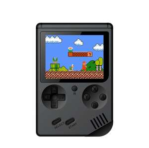 RS-6A 168 in 1 Nostalgic Handheld Game Console White Black Yellow