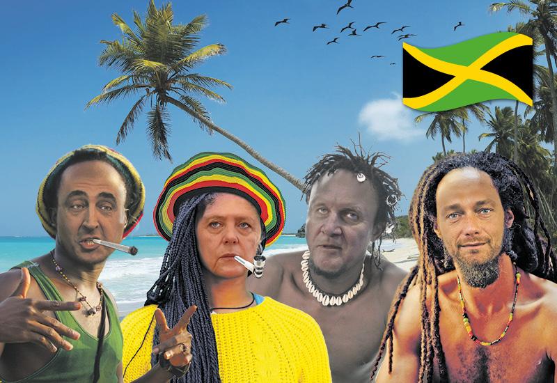 Weihnachten am Strand mit Bob Marley